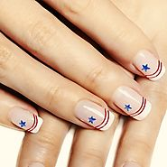 4th of July Nail Art Ideas - Cute 4th of July Nail Designs