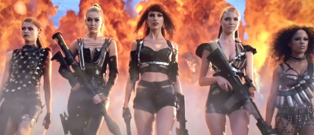 Headline for Who's who in Taylor Swift's Bad Blood Music Video