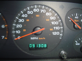 Ask for the count on the odometer