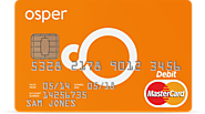 Osper Prepaid MasterCard (UK: Ages 8+)