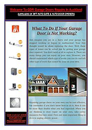Advantages of Hiring Garage Door Repair Companies