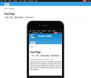 Mobile Preview | Drupal.org