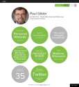 Paul Gibler's Vizify Bio | Overview