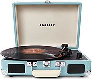 Best Vintage Vinyl Record Player Turntable with Horn - Legs - Usb Reviews 2015
