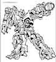Transformers coloring pages. Free printable coloring sheets for kids.