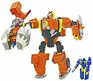 Transformers Cybertron Voyager Quickmix with Stripmine