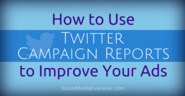How to Use Twitter Campaign Reports to Improve Your Twitter Ads |