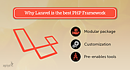 Laravel is simple, elegant and the best Framework for PHP