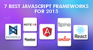 7 most popular JavaScript frameworks of 2015