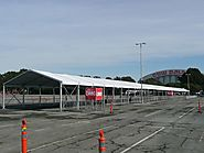 Clear Span Structures Tent for Exhibition