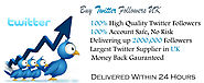 Buy Twitter Followers UK - Social Media Marketing Experts