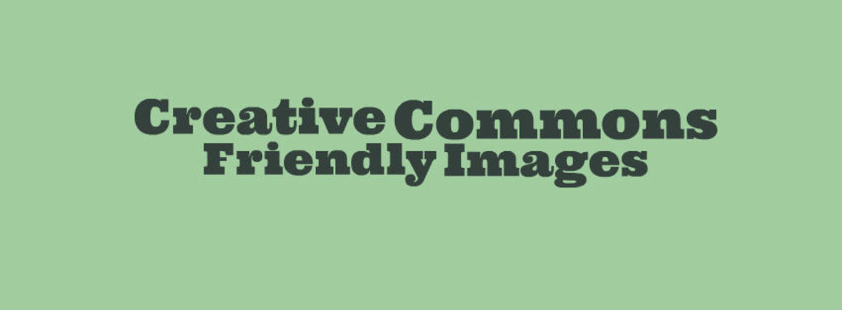Headline for Creative Commons Friendly for Digital Projects: IMAGES