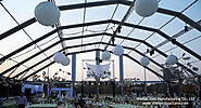 Clear Top reception marquees