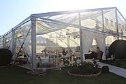 Clear Marquee Tent | Shelter Wedding Tent