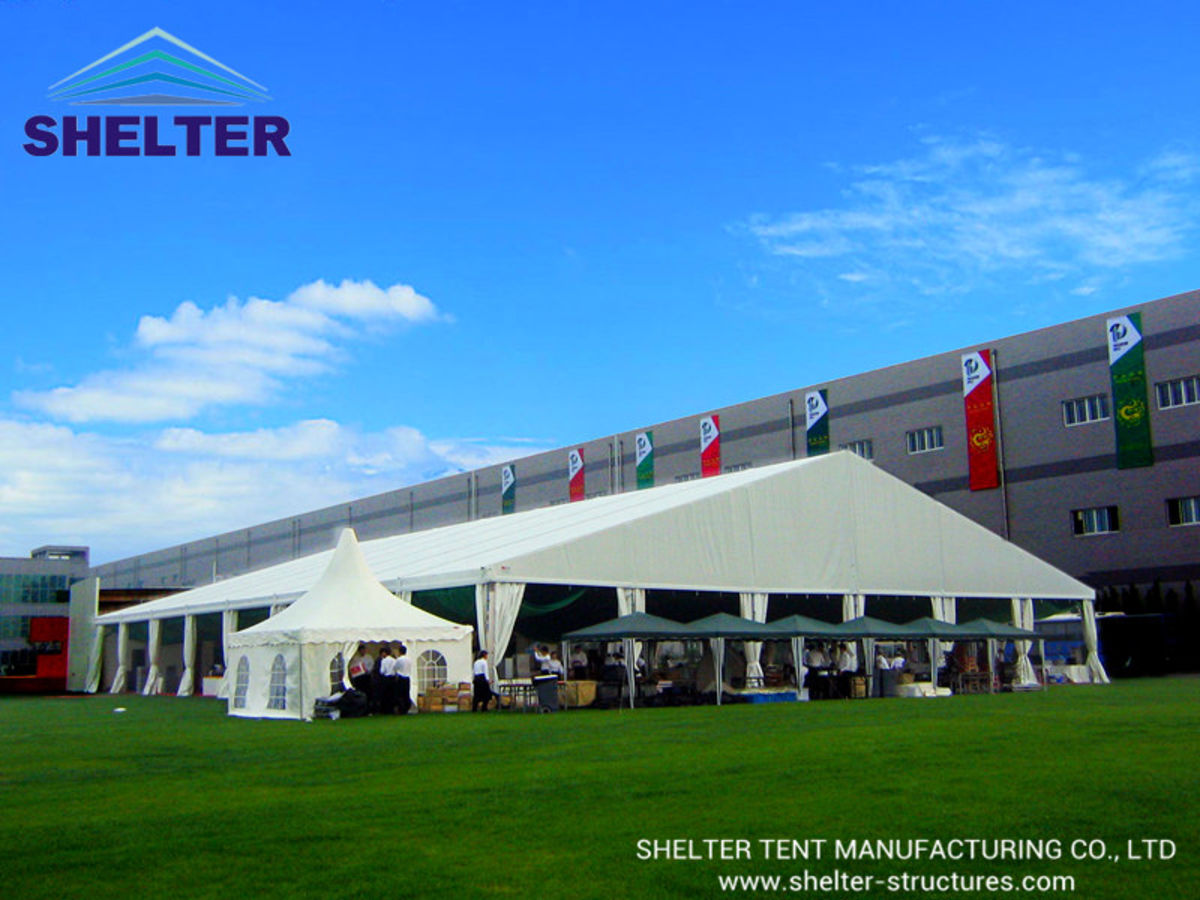 Headline for Large Wedding Tent | Clear Span Tent | Outdoor Weddding