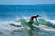 Kuta Beach Surfing
