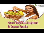 Natural Weight Loss Supplement Helps To Suppress Appetite