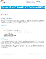 Upgrade Microsoft Dynamics NAV Database to 2013 R2