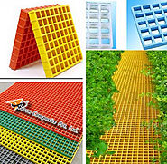 Features For Fiberglass Molded Gratings Product