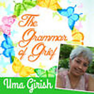 The Grammar of Grief With Uma Girish by Uma Girish