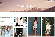 Mari - Responsive Grid Tumblr Theme