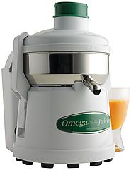 Omega 4000 Stainless-Steel 1/3-HP Continuous Pulp-Ejection High-Speed Juicer - Best Juicer Reviews