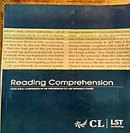 Reading Comprehension (Part of CL LST Material)