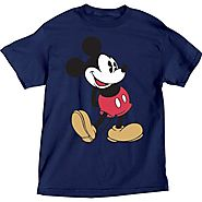 Mens Mickey Mouse Head to Toe Plus Size T Shirt