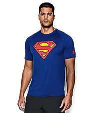 Under Armour Men's Alter Ego Superman T-Shirt Medium Royal
