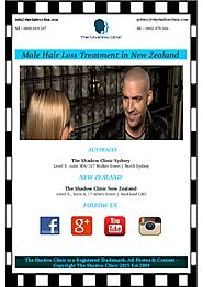 Some Tips For Men Hair Loss Treatment in NZ