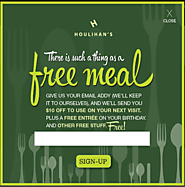 Houlihan's FREE Entre on your Birthday!
