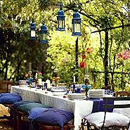 30 Delightful Outdoor Dining Area Design Ideas - Architecture Art Designs