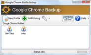 Chrome Addon - Google Chrome Backup