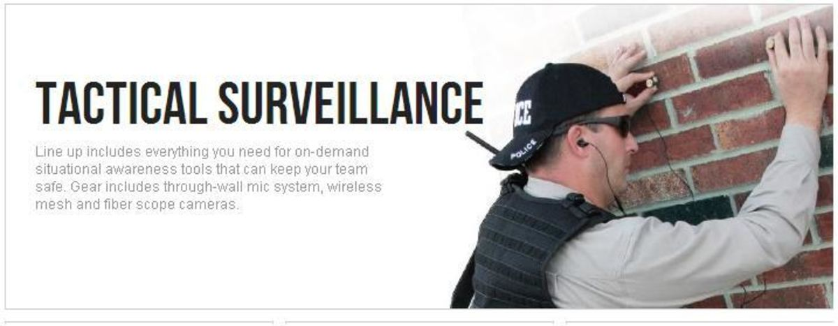 Headline for Surveillance Equipment