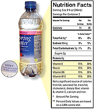 FDA Regulates the Safety of Bottled Water Beverages Including Flavored Water and Nutrient-Added Water Beverages