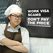 How can I get a visa to work in Australia?