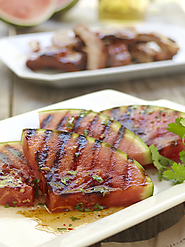 Grilled Spicy Watermelon