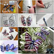 Wonderful DIY Pretty Butterfly from Recycled Bottle