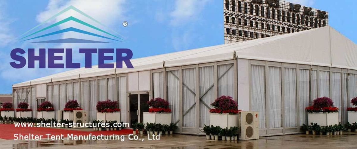 Headline for Large Event Tent | Exhibition Marquee