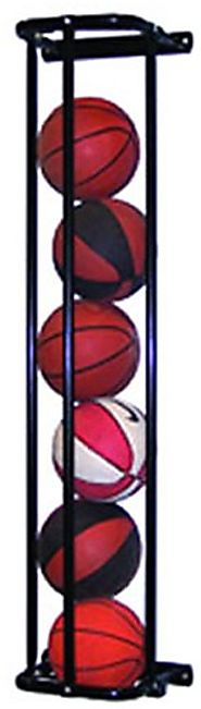 Jaypro Sports PE-140 Stackmaster Single Basketball Wall Rack