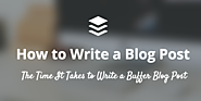 How to Write a Blog Post: A Full Breakdown of What We Do