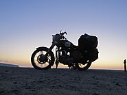 Motorcycle Trip in Rann of Kutch