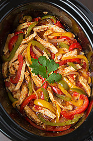 Chicken Fajitas for Dinner? Awesome!