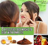 Face Mask to Remove Pimples - 8 Effective Face Masks to Deal with Them!