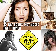 8 Bad Habits That Make Hair Thinner - Prevent Thinning Of Hair!