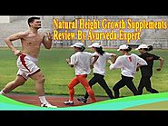 Natural Height Growth Supplements Review By Ayurveda Expert