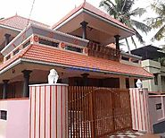2400Sqft House for Sale at Mannamoola, Trivandrum | nbook
