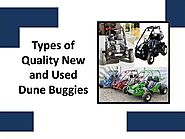 Types of Quality New and Used Dune Buggies