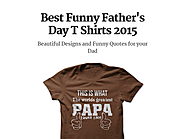 Best Funny Father's Day T Shirts 2015