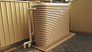Slimline Rainwater Tanks Supplier Adelaide -Taylor Made Tanks